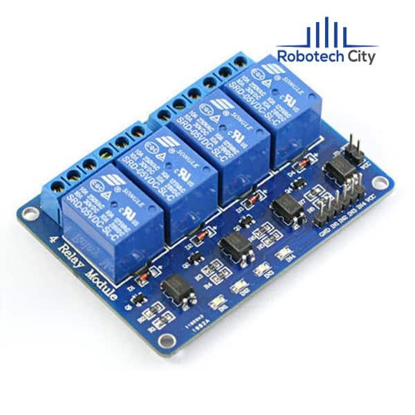 4 channel relay module