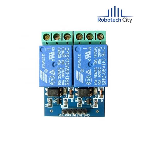 2 channel relay module
